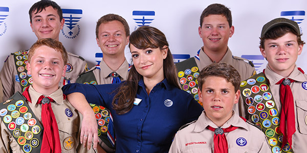Exciting events are happening at The Boy Scouts of America National Foundation